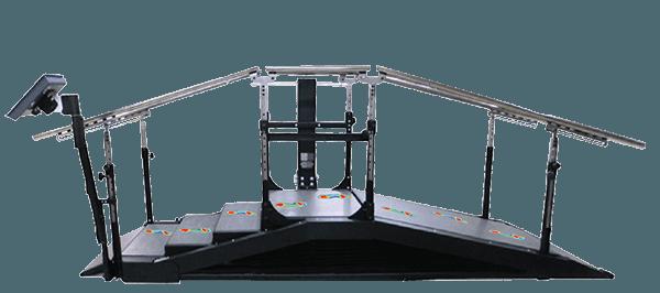 Therapietreppe DST 8000 Triple Pro von der Seite