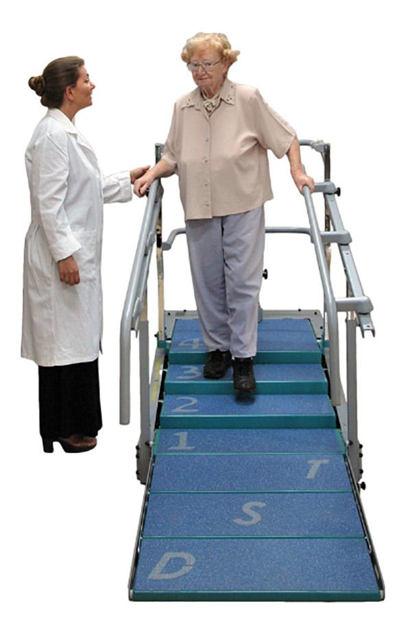 Dynamic Stair Trainer mit Patientin
