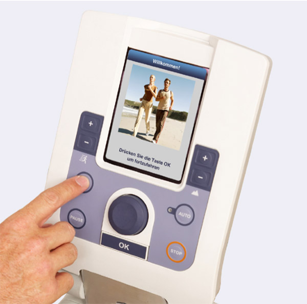 EN-Motion Laufband Bildschirm