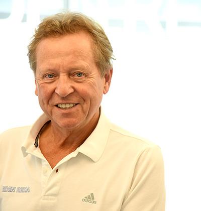 Klaus Eder - ehemaliger Physiotherapeut der deutschen Fußball Nationalmannschaft