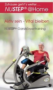 Nustep@Home Flyer Deckblatt
