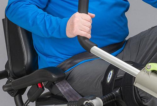 Sitzgurt für den T4r