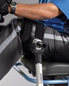 NuStep T5xr Beinfixierung / Fußfixierung