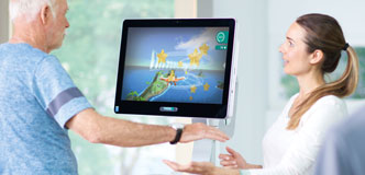 THERA-Trainer Software mit Patient