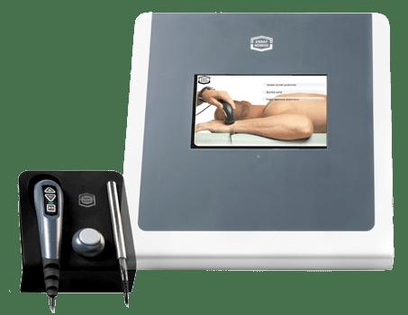 Tecarpuls - Intuitive Therapieauswahl über Touchscreen