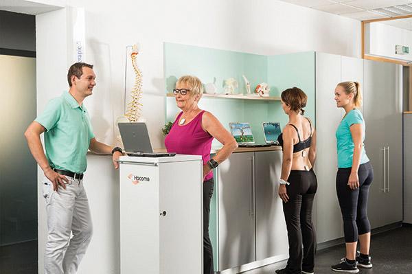 ValedoMotion Behandlung mit mehreren Patienten